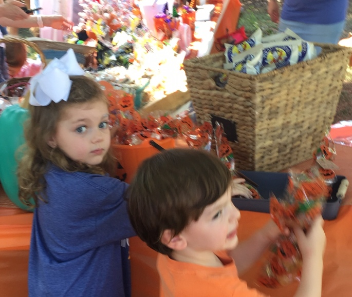Allergy-free treats at pumpkin patch